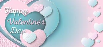 Jour de valentines heureux illustration libre de droits