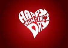 Jour de valentines heureux Photographie stock