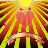 Jour de valentines heureux. Images libres de droits