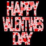 Jour de Valentines heureux Photos stock