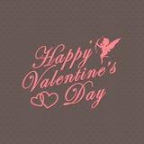 Jour de valentines heureux Photographie stock libre de droits
