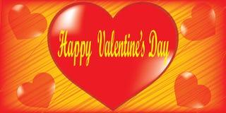 Jour de valentines heureux Photos libres de droits