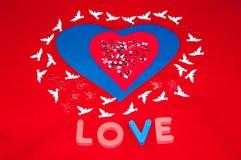 Jour de valentines heureux. Amour et bonheur. Photographie stock libre de droits
