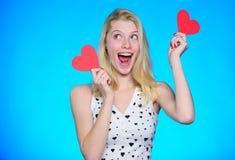 Jour de valentines heureux Attribut de jour de valentines Célébrez le jour de valentines Rêve romantique d'humeur de fille au suj image libre de droits
