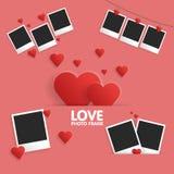 Jour de valentines heureux de carte postale illustration stock