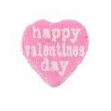Jour de valentines heureux de coeur de sucrerie Image libre de droits