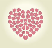 Jour de valentines heureux de fond Photo libre de droits