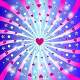 Jour de valentines heureux de St. Images libres de droits