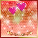 Jour de valentines heureux de St. Image stock
