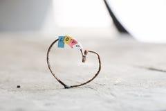 Jour de valentines, mariage ou idée d'amour, style de vintage Photo libre de droits