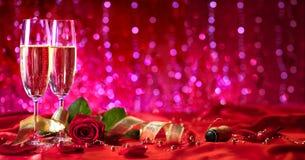Jour de valentines romantique photos stock