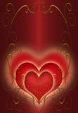 Jour de valentines rouge Photo stock