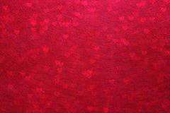 Jour de valentines rouge abstrait de fond Photos stock