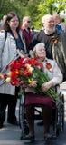 Jour de victoire Photo libre de droits