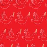 Jour de victoire L'oiseau de la paix Illustration Libre de Droits