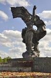 Jour de victoire, Lettonie Photographie stock