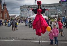Jour de ville à Tula 2015 Photos libres de droits
