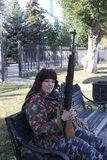 Jour de ville dans Luhansk Photos stock