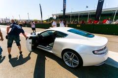 Jour de voie d'Aston Martin Owner photographie stock libre de droits