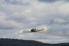 Jour de vol le 11 mai 2014 chez Kjeller (airshow) Photos stock