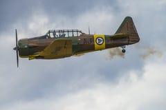 Jour de vol le 11 mai 2014 chez Kjeller (airshow) Images libres de droits