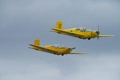 Jour de vol le 11 mai 2014 chez Kjeller (airshow) Photo libre de droits