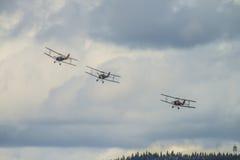 Jour de vol le 11 mai 2014 chez Kjeller (airshow) Photographie stock
