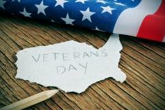 Jour de vétérans Photographie stock
