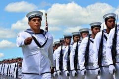 Jour de Waitangi et festival - jour férié 2013 de la Nouvelle Zélande image libre de droits