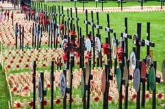 Jour des anciens combattants à Londres Photo stock
