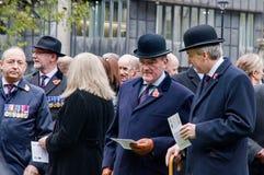 Jour des anciens combattants à Londres Image stock