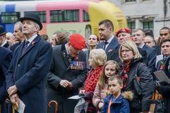 Jour des anciens combattants à Londres Image libre de droits