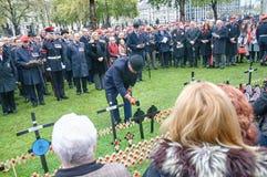 Jour des anciens combattants à Londres Photos stock