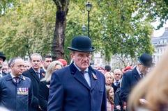 Jour des anciens combattants à Londres Photographie stock libre de droits