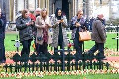 Jour des anciens combattants à Londres Photographie stock