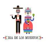 Jour des morts et du x28 ; Dia de los Muertos& x29 ; Images stock