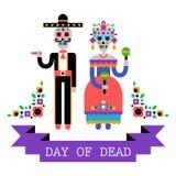 Jour des morts et du x28 ; Dia de los Muertos& x29 ; Images libres de droits