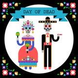 Jour des morts et du x28 ; Dia de los Muertos& x29 ; Image stock