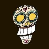 Jour des morts Festival traditionnel mexicain Dia de Los Muertos illustration de vecteur