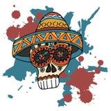 Jour des morts Festival traditionnel mexicain Dia de Los Muertos illustration stock