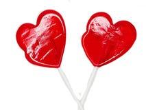 Jour doux du ` s de valentine d'amour de lucettes de coeur Image stock