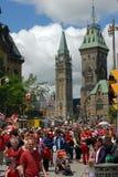 Jour du Canada à Ottawa Photographie stock libre de droits