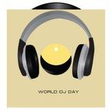 Jour du DJ du monde Photographie stock libre de droits