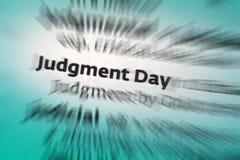 Jour du jugement dernier image stock