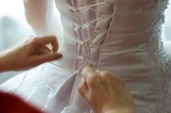 Jour du mariage heureux Image libre de droits