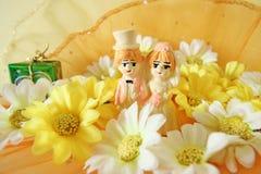 Jour du mariage ou concept d'anniversaires de mariage Photographie stock libre de droits