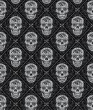 Jour du modèle sans couture mort illustration libre de droits