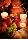 Jour du plan rapproché mort d'autel (Dia de Muertos) Images libres de droits