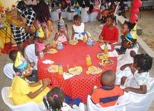 Jour du ` s d'enfants, un succès Photographie stock libre de droits