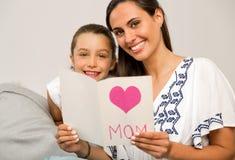Jour du `s de mère Image libre de droits